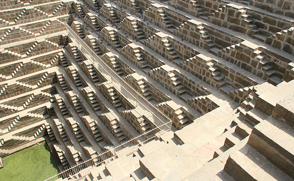 Chand Baori stepwell, Abhaneri, Rajasthan